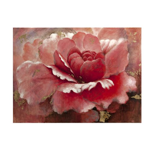Glimmer Flower Oil Painting Print on Canvas