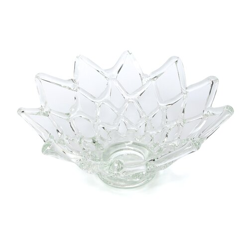 IMAX Glass Web Bowl