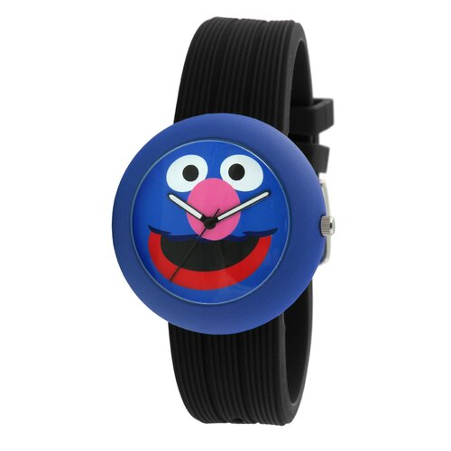 Grover Rubber Watch in Black