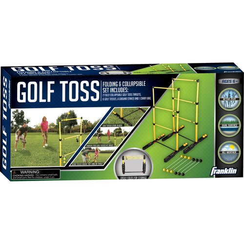 Franklin Sports Fold-N-Go 8 Piece Golf Toss Set