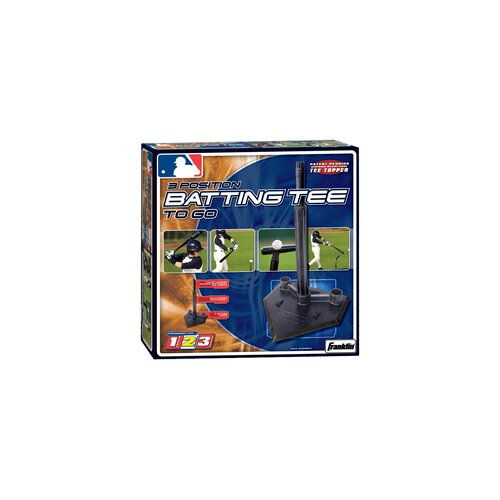 Franklin Sports MLB Batting Tee to Go in Black