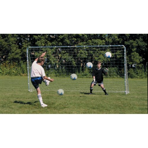 Franklin Sports Soccer Competition Steel Goal 6' x 12'