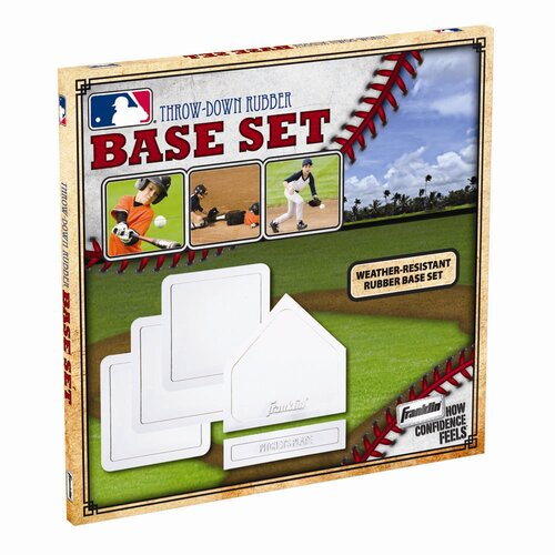 Franklin Sports MLB 5 Piece Rubber Base Set