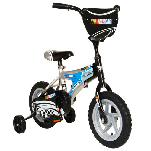 "Nascar Boy's 12"" Hammer Down Road Bike"