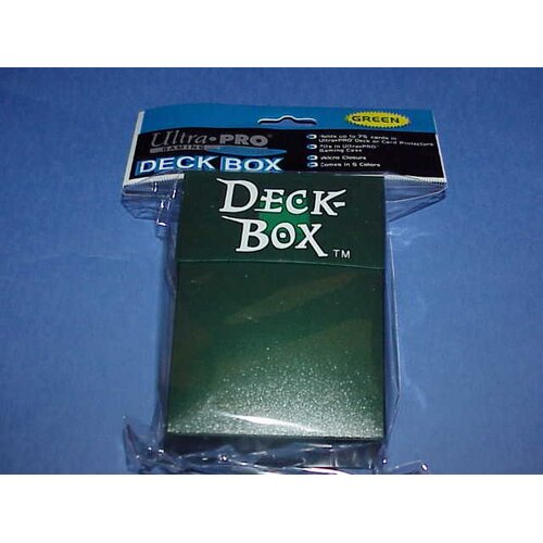 Ultra Pro 5 Deck Boxes in Green