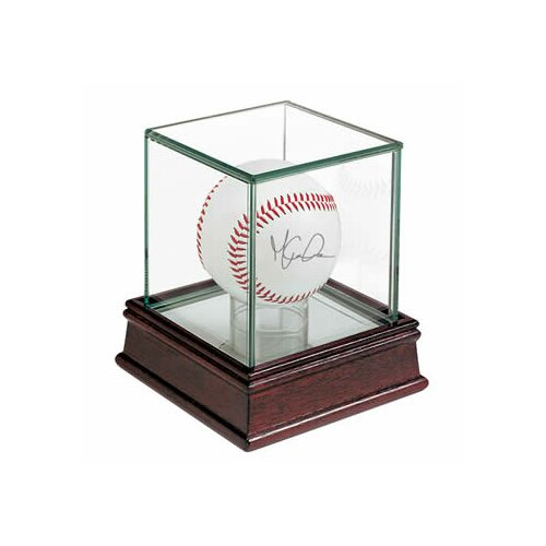 Ultra Pro Glass Single Ball Display Case