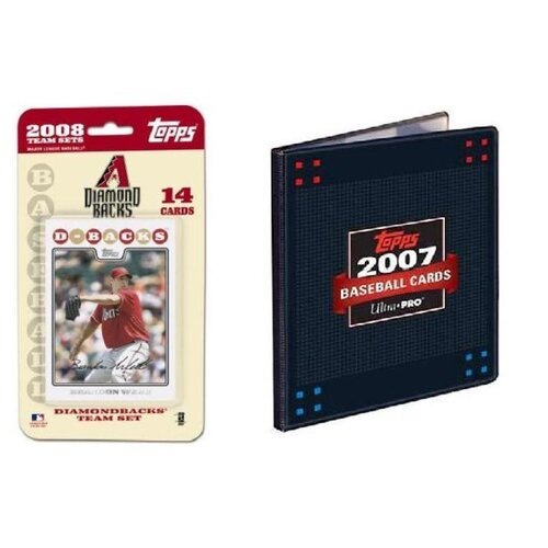Topps MLB 2008 Trading Card Set - Arizona Diamondbacks - Ultra Pro
