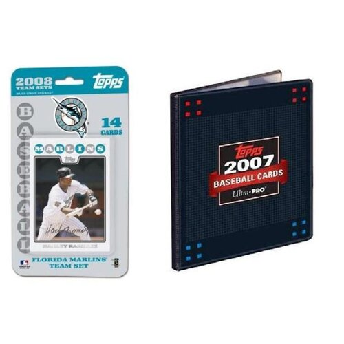 Topps MLB 2008 Trading Card Set - Florida Marlins