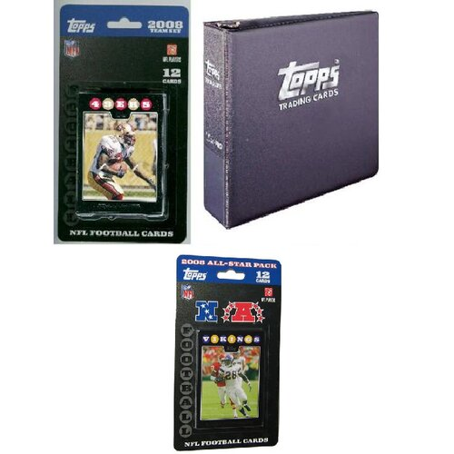 Topps NFL 2008 Trading Card Gift Set - San Francisco 49ers