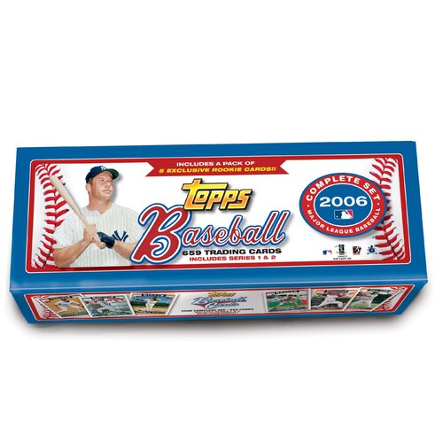 MLB 2006 Factory Trading Card Set (Set of 665)