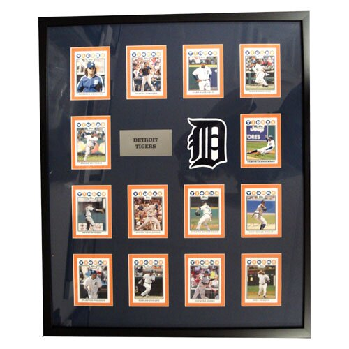 Topps MLB 2008 Trading Card Set Framed -Detroit Tigers