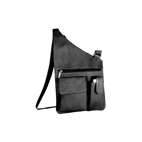 Top Zip Opening Cross Body Bag