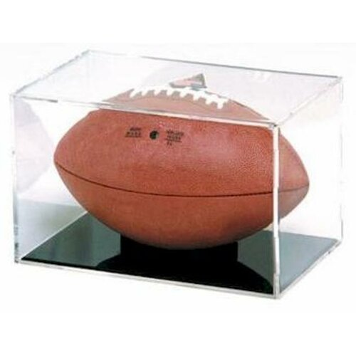 BallQube NFL Grandstand Football Display Case