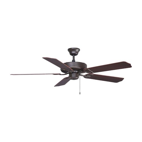 "Fanimation 52"" Builder 5 Blade Indoor/Outdoor Ceiling Fan"
