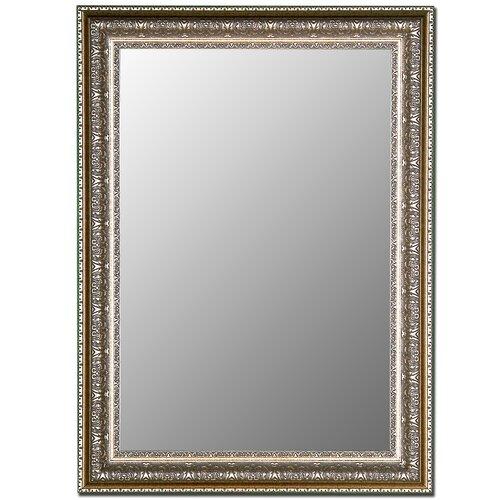 Venetian Washed Silver Framed Wall Mirror