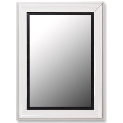 Executive Grande Leather Liner Mirror