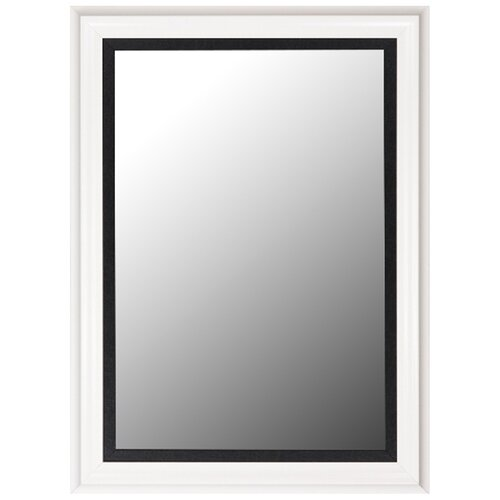 Executive Petite Leather Liner Mirror