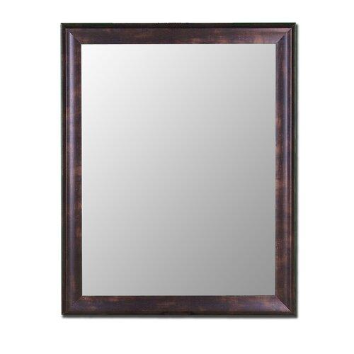 Hitchcock Butterfield Company Espresso Walnut Framed Wall Mirror