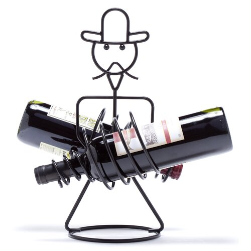 Oenophilia Rodeo 2 Bottle Tabletop Wine Rack