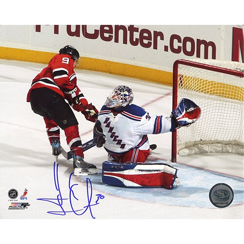 Steiner Sports NHL Henrik Lundqvist Shootout Winning Save Vs. Parise Autographed