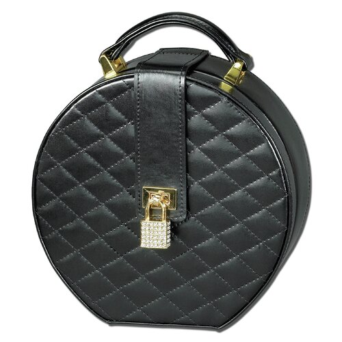 Ragar Black Diamond Round Travel Case
