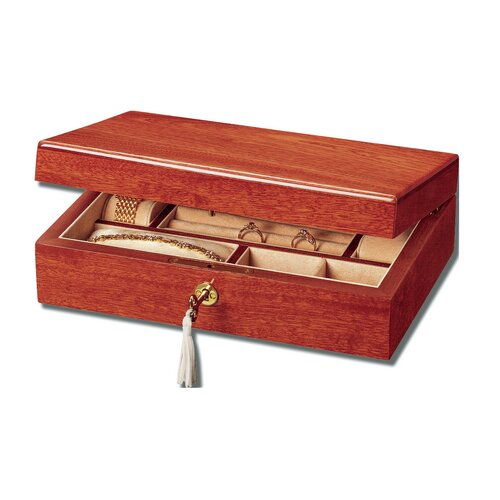 Mahogany 15th Jewelry Box