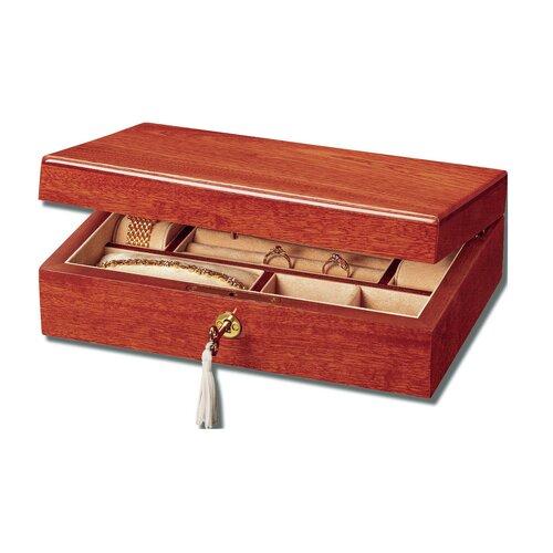 Mahogany 15th Jewelry Box