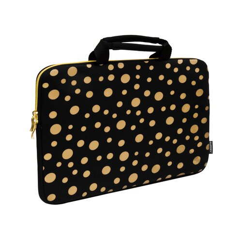 Sumdex Printed Polka Dots Neoprene Laptop Sleeve