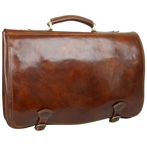 Verona Florence Calfskin Laptop Briefcase