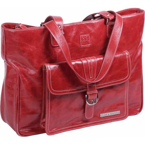Clark & Mayfield Stafford Vintage Laptop Tote Bag