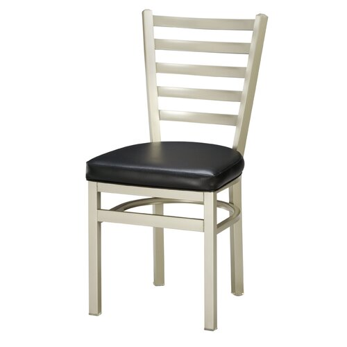 Regal Steel Ladderback Side Chair