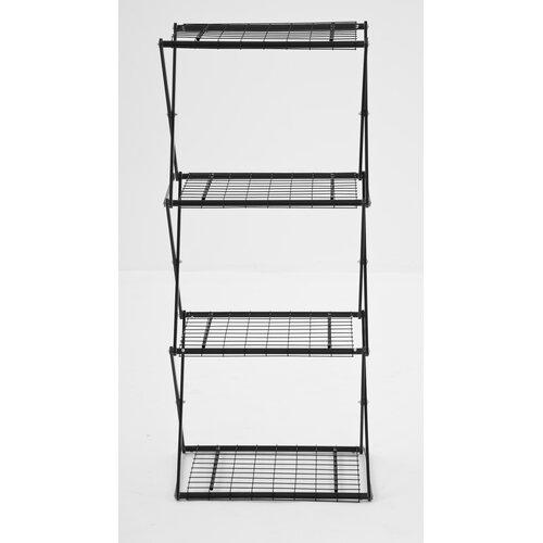 flowerhouse exy narrow x up 48 four shelf shelving unit. Black Bedroom Furniture Sets. Home Design Ideas