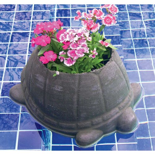 Flowerhouse Floating Turtle Pot Planter