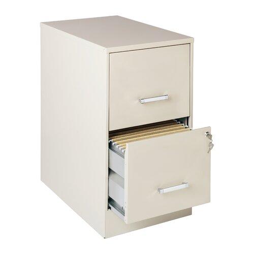 CommClad 2 Drawer  Smart File Cabinet