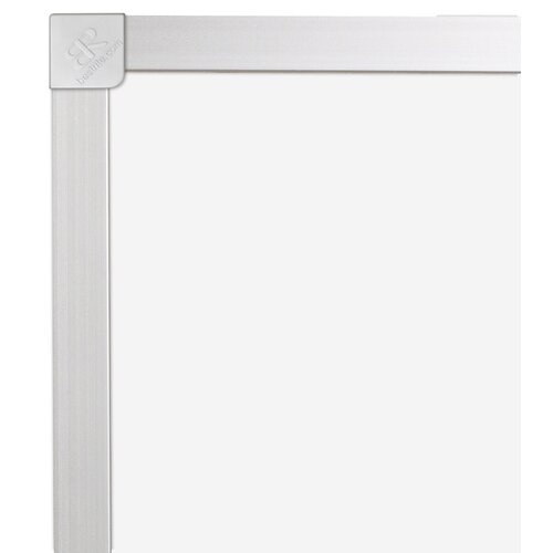 "CommClad 24"" x 36"" Thermal-Fused Melamine Whiteboard with Aluminum Trim"