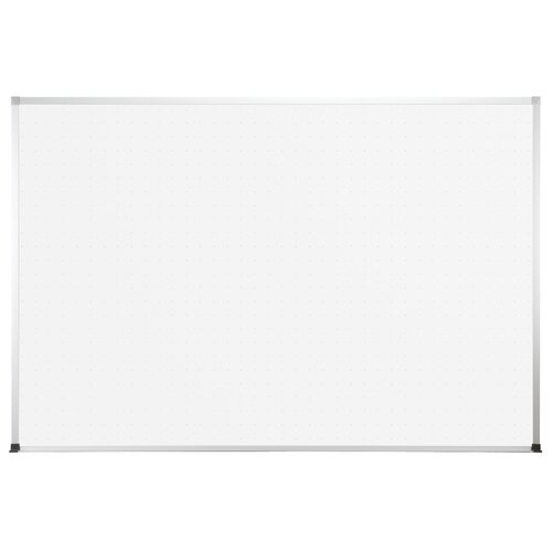 """CommClad Thermal-Fused 1' 6"""" x 2' Dot Grid Whiteboard"""