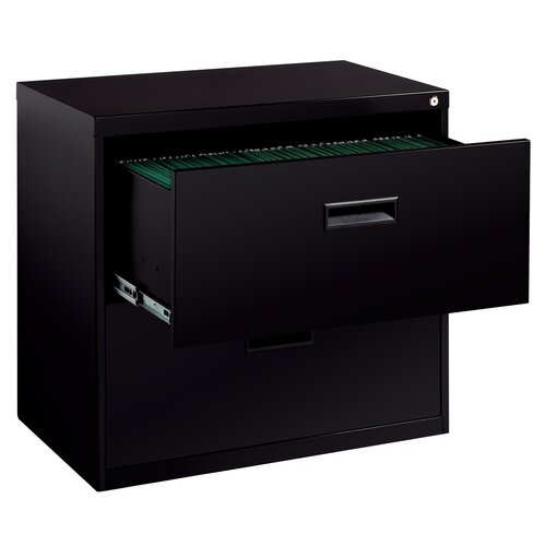 CommClad Soho 2-Drawer  File Cabinet