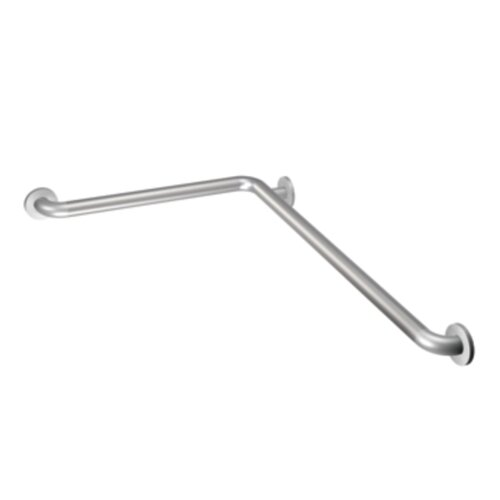 "Home Care by Moen 48"" L Shaped Grab Bar"