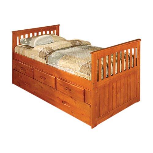 Discovery World Furniture Weston Twin Slat Bed
