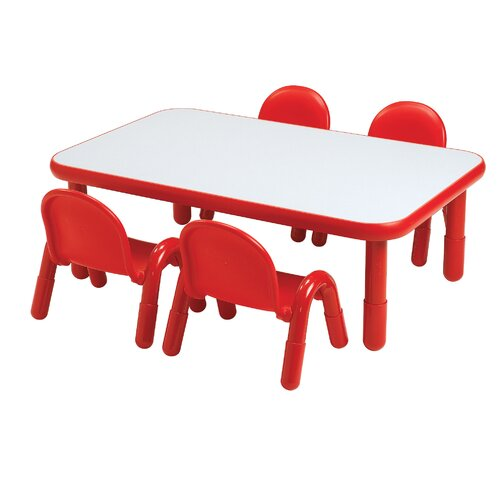 "Angeles Baseline 60"" x 30"" Rectangular Classroom Table"