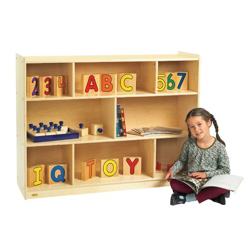 Angeles Value Line Birch Mobile Shelf