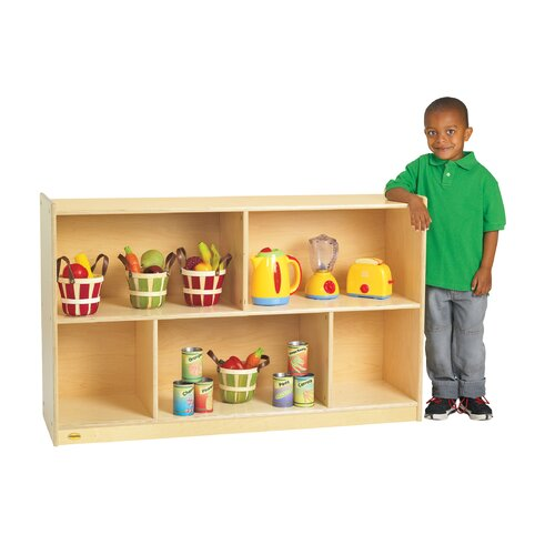Angeles Value Line Birch Mobile Preschool Shelf