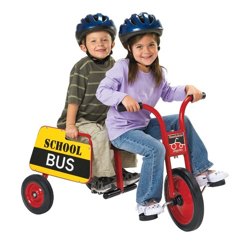 Angeles ClassicRider School Bus Tricycle