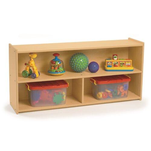 Angeles Value Line Preschool Two Shelf Storage