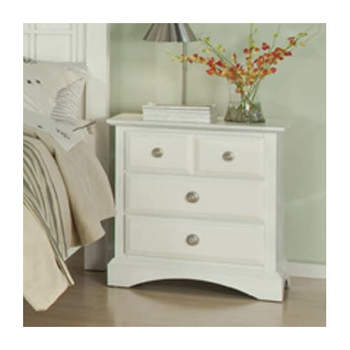 Najarian Furniture Palazzo 3 Drawer Nightstand