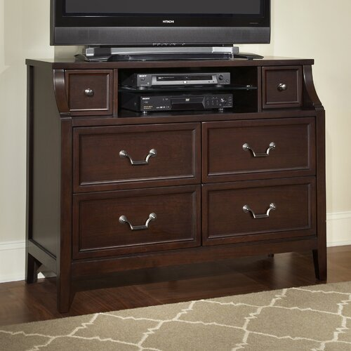 Najarian Furniture Newport 6 Drawer Media Chest & Reviews  Wayfair