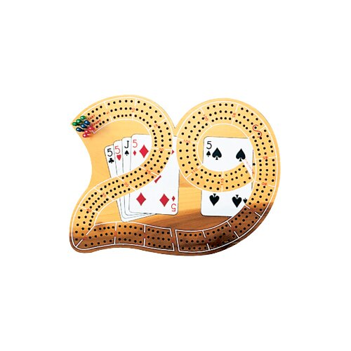 Cuestix Gameroom Accessories Cribbage Board - 29 Shape
