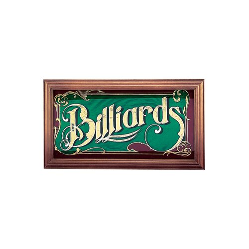 Cuestix Novelty Items Mirrored Billiard Sign