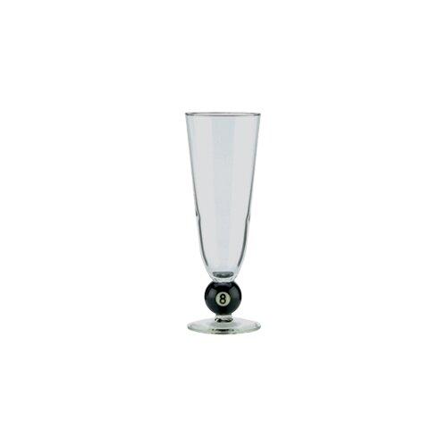Cuestix CueStix Novelty Items Eight Ball Pilsner Glass