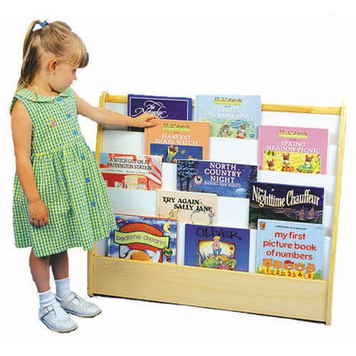 ECR4kids 2-Sided Pic A Bookshelf